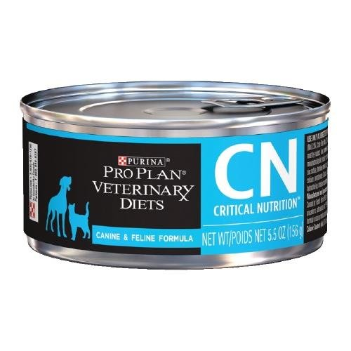 Purina Pro Plan Veterinary Diets CN Critical Nutrition Formula Canned Dog Cat Food 24 5.5 oz by Purina Pro Plan Veterinary Diets