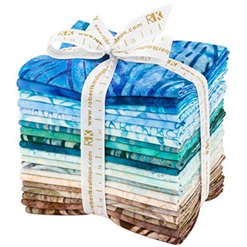 Robert Kaufman Fabrics Artisan Batiks Elemental Landscapes 2 21 Fat Quarters by Robert Kaufman