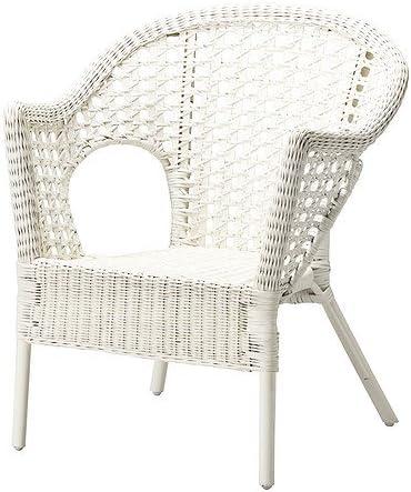 Ikea Agen Fauteuil En Rotin Bambou Bamboo Chair Blanc