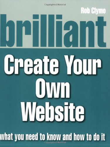 Brilliant Create Your Own Website (Computing)