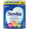 Similac Advance Stage 1 Infant Formula 1.93 Lb (30.8 oz) by Abbott