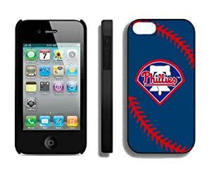 Cheap Apple Iphone 4s Case MLB Philadelphia Phillies Personalized Iphone 4 Cellphone Protector