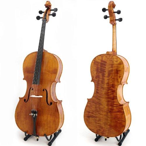 Cecilio CCO-600 Cello mit Softtragetasche, Koffer, Kolofonium, Bogen, und Saiten (3/4 Größe)