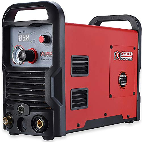 CUT-50 Amp Plasma Cutter DC Inverter 110/230V Dual Voltage Cutting Machine New (Plasma Pack Cleaning)