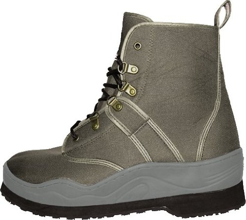 Caddis Men's Taupe Ecosmart Grip Sole Wading Shoe, 13, Outdoor Stuffs