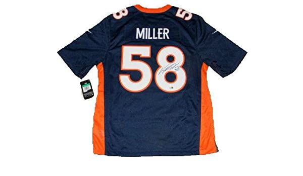dd5824957 Signed Von Miller Jersey -  58 Nike Limited Fanatics - Fanatics Authentic  Certified - Autographed NFL Jerseys at Amazon s Sports Collectibles Store