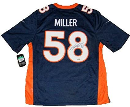 7378449bc Signed Von Miller Jersey -  58 Nike Limited Fanatics - Fanatics Authentic  Certified - Autographed