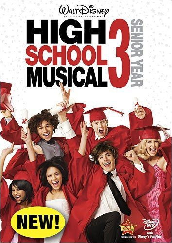 High School Musical 3: Senior Year Zac Efron Vanessa Hudgens Ashley Tisdale Lucas Grabeel