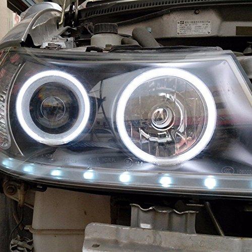 90/mm Itimo 2/pcs LED Angel Eyes Voiture DRL Feux de Jour Super Bright Auto lampe de brouillard Phare Car-styling 12/V