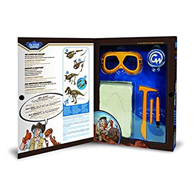 Uncle Milton Dr. Steve Hunters Paleo Expedition Dino Dig Excavation Kit Scientific Educational Toy: Toys & Games
