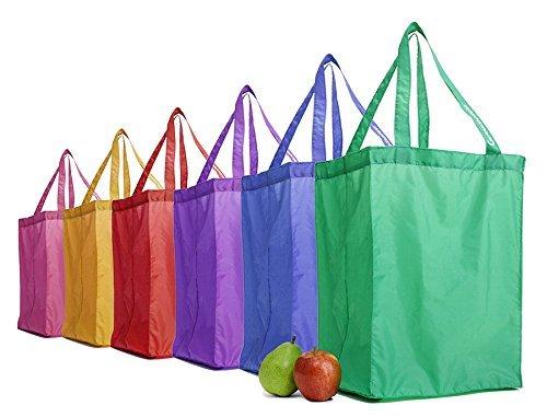 【特別訳あり特価】 GreenShopper Shopping Totes - by Reusable Grocery GreenShopper 6 Bags - Rainbow Set of 6 by GreenShopper B017J9UBFS, NOLSIA:799d0a49 --- tadkarecipes.com
