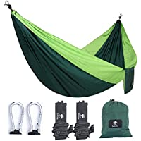 Subesty Parachute Camping Hammock or Hiking, Backpacking, Traveling and Yard