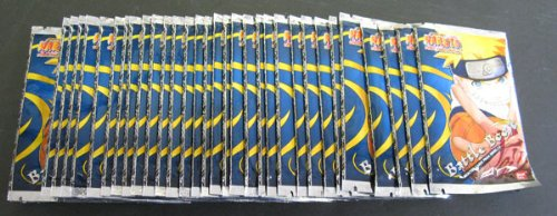 Naruto Battle Boost Packs TCG - 36 Packs - Series 1-6