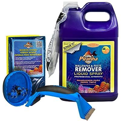 Roman 209930 1 gal Liquid Spray Wallpaper Removal Kit, Small Room
