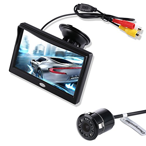 Backup Camera and Monitor Kit for Car, Chuanganzhuo 5