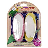 Product review for Penn-Plax® Banana & Berry Cuttlebone & Mineral Block Combo for Birds, 2-Pack