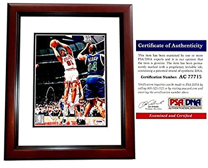a51d84208 Image Unavailable. Image not available for. Color  Dennis Rodman Signed - Autographed  Chicago Bulls ...