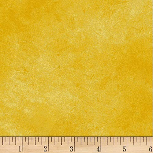 P & B Textiles Suede 6 Dark Yellow Fabric by The Yard -  302-SUE6-YY