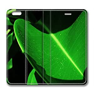 Sunset Customized Design Leather Case for Iphone 6 Plus / Iphone 6 Plus Cover Green