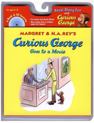 Curious George Goes to the Movie w/cd