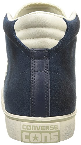 Vulc Pro Mid Suede Unisex Off Lth Sneaker Blue Leather Dress Converse White Adulto Sq4HwEq