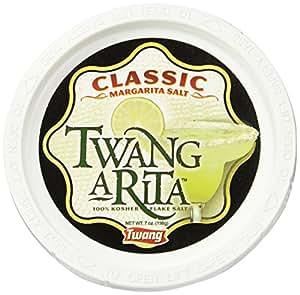 Twang-A-Rita, Classic Margarita Salt, 6-Ounce Tubs