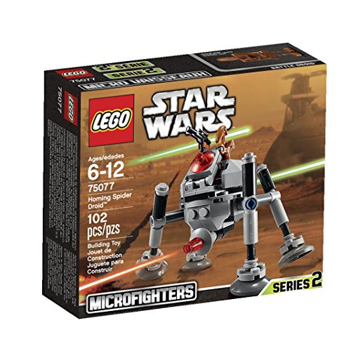 LEGO, Star Wars Microfighters Series 2, Homing Spider Droid (75077)