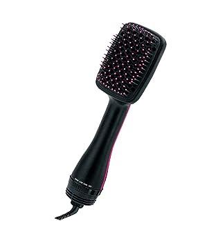 Cepillo Alisador secador de pelo iónico cepillo liso pelo recto pelo rizado secado rápido plancha de pelo: Amazon.es: Salud y cuidado personal