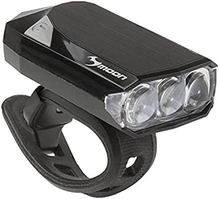Moon GEM 2.0 - Luz Delantera para Bicicleta Negro Negro Talla:19 ...