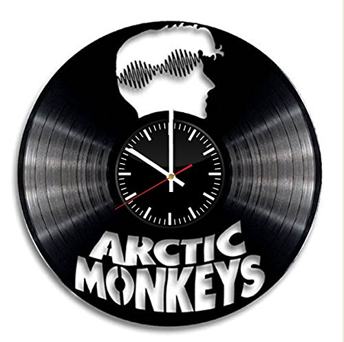 British Clock - Arctic Monkeys vinyl clock british band clock home decor christmas gift