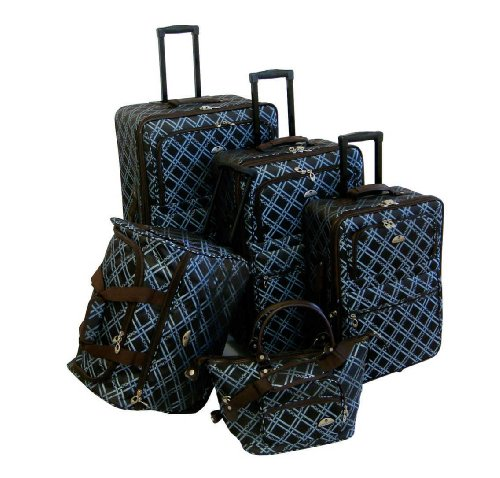american-flyer-luggage-pemberly-buckles-5-piece-set-metallic-blue-one-size