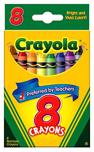 (Classic Color Pack Crayons, Tuck Box, 8 Colors/Box)