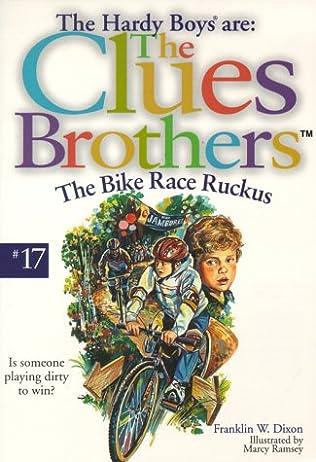 book cover of The Bike Race Ruckus