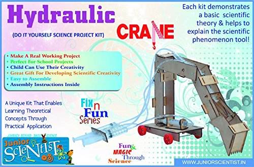 Buy hydraulic crane do it yourself science activity kit buy hydraulic crane do it yourself science activity kit hydraulic projects concept the transmission of forces from point to point through a fluid solutioingenieria Image collections