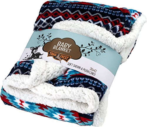 baby-nordic-soft-sherpa-blanket-30-x-42-navy-red-and-white