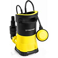 TROTEC Bomba Sumergible para Aguas claras TWP 4005 E, 400 W, Protección contra Marcha en seco, Profundidad de inmersión…