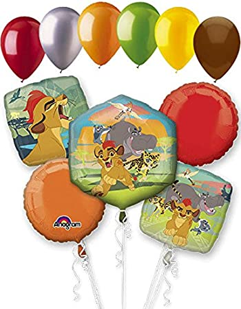 Amazon.com: 11pc Disney Lion Guardia Globo Ramo Fiesta ...