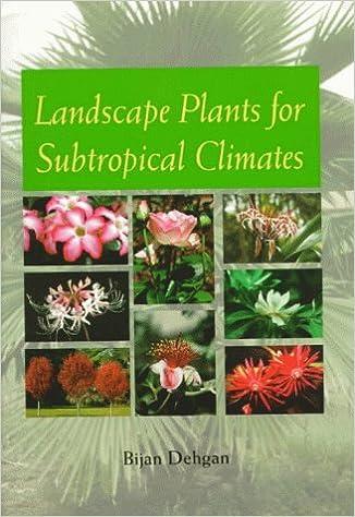 Landscape Plants for Subtropical Climates