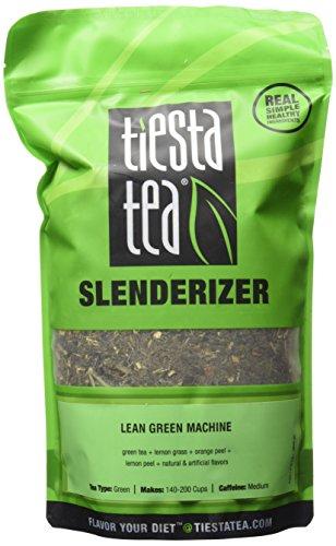 Tiesta Tea, Slenderizer Lean Green Machine, 1.00 Pound