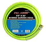 Cal Hawk Tools BZGH50G Hybrid Garden Hose