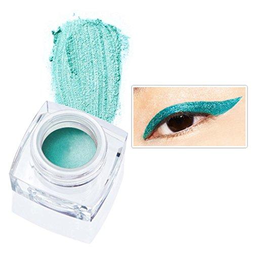 12 Colors Eye Liner Waterproof, Eyeliner Pearlescent Matte