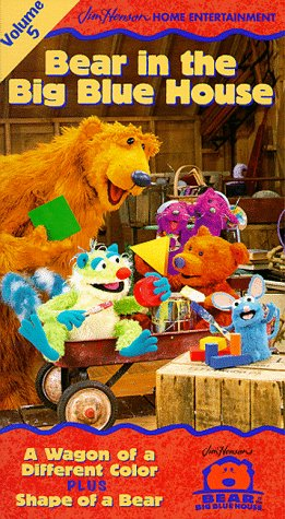 Bear in the Big Blue House, Vol. 5 - A Wagon of a Different Color / Shape of a Bear - Mooney Shape In