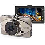 Dash Cam, 3.0 LCD Full HD 1080p Car Dashboard Camera Recorder With 170° Wide Angle,Parking Monitor, Loop recording, WDR, G-sensor