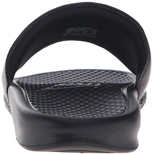 Nike Unisex-Erwachsene Benassi JDI Dusch-& Badeschuhe Schwarz (Black/White)