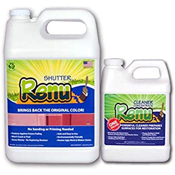 Amazon Com Shutter Renu 12 18 Shutter Kit Shutter Cleaner