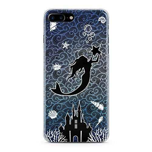 Lex Altern TPU Case for iPhone Apple Xs Max Xr 10 X 8+ 7 6s 6 SE 5s 5 Princess Print Figure Pattern Cute Design Smooth Women Girls Soft Clear Flexible Slim fit Lightweight Cover Gift Lux Pocahontas ()