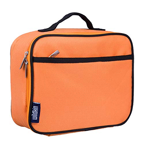 Wildkin Lunch Box, Bengal Orange (Orange Lunch)