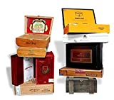Wooden Empty Cigar Boxes Pack of 10 Empty