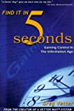 Find It in 5 Seconds, Greg Vetter, 1883697077