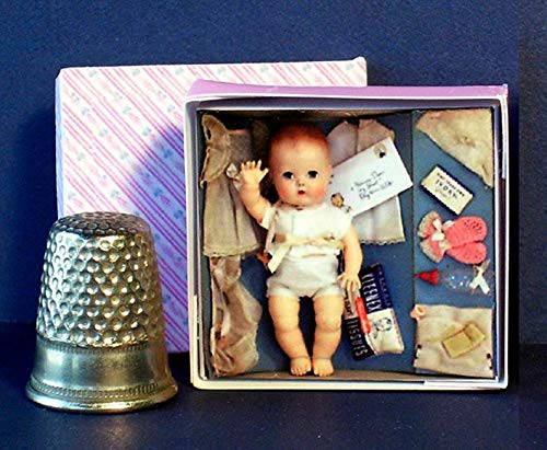 ThuyTienStore Tiny Tears Layette Doll Box 1950s - Dollhouse for sale  Delivered anywhere in USA